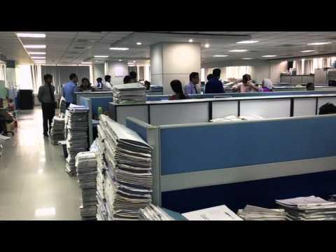 Office Still On Paperwork - Bangladesh Corporate Culture