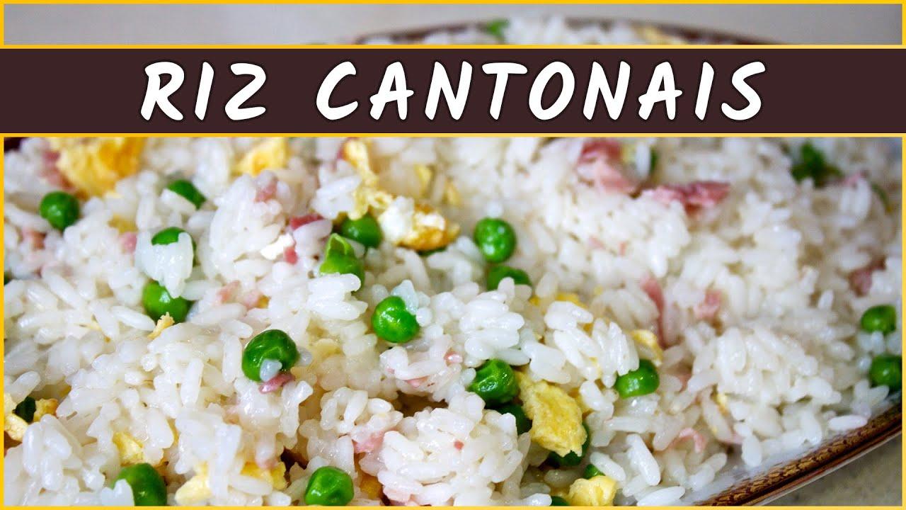 Recette du riz cantonais