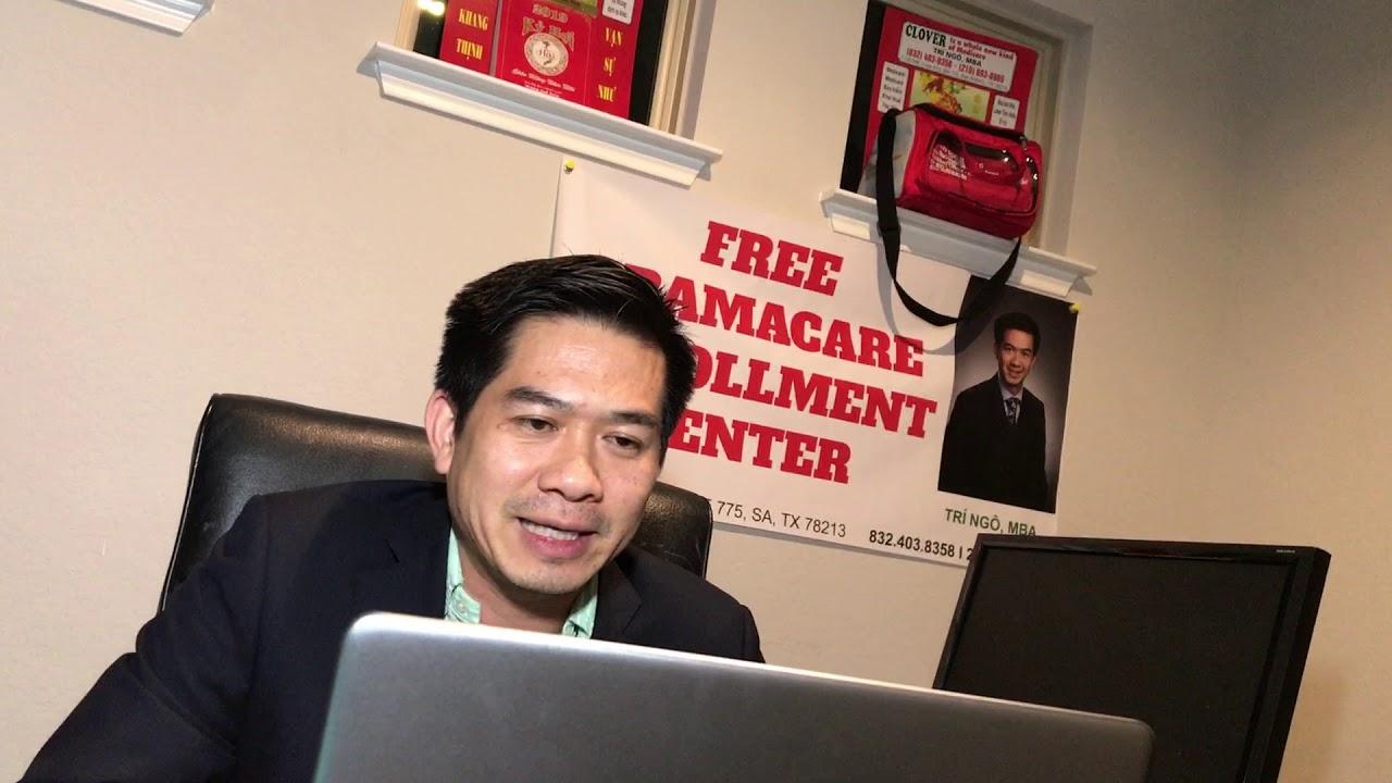Chuyên gia bảo hiểm sức khỏe TRI NGO MBA trả lời câu hỏi cho mọi người trên channel Duc Vu USA