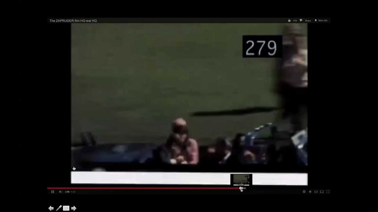 Zapruder Film Quot Frame 312 Quot The Projectile Grassy Knoll
