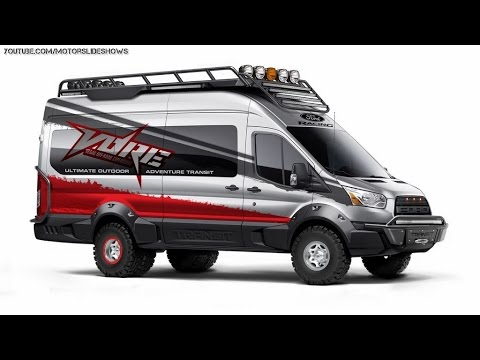 2015 Ford Transit Gets Unexpected Attention from Tuning Specialists