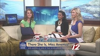 Miss America and MIss Rhode Island!