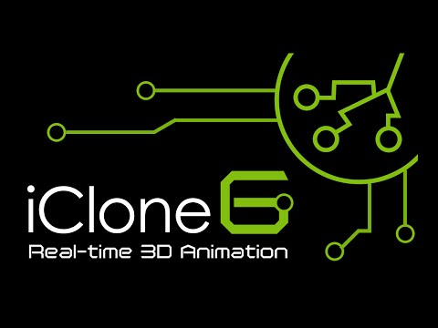 iClone 6 Intro - How to create fast 3D animation