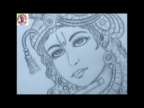 how-to-draw-a-lord-krishna-face---a-god-krishna-drawing---cute-drawings-wisdom