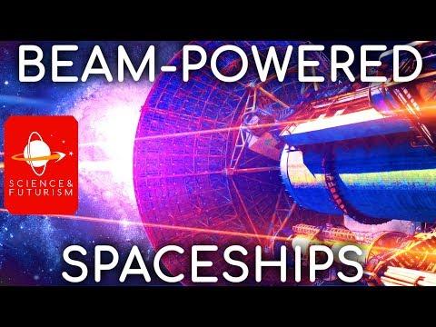 Beam Powered Spaceships