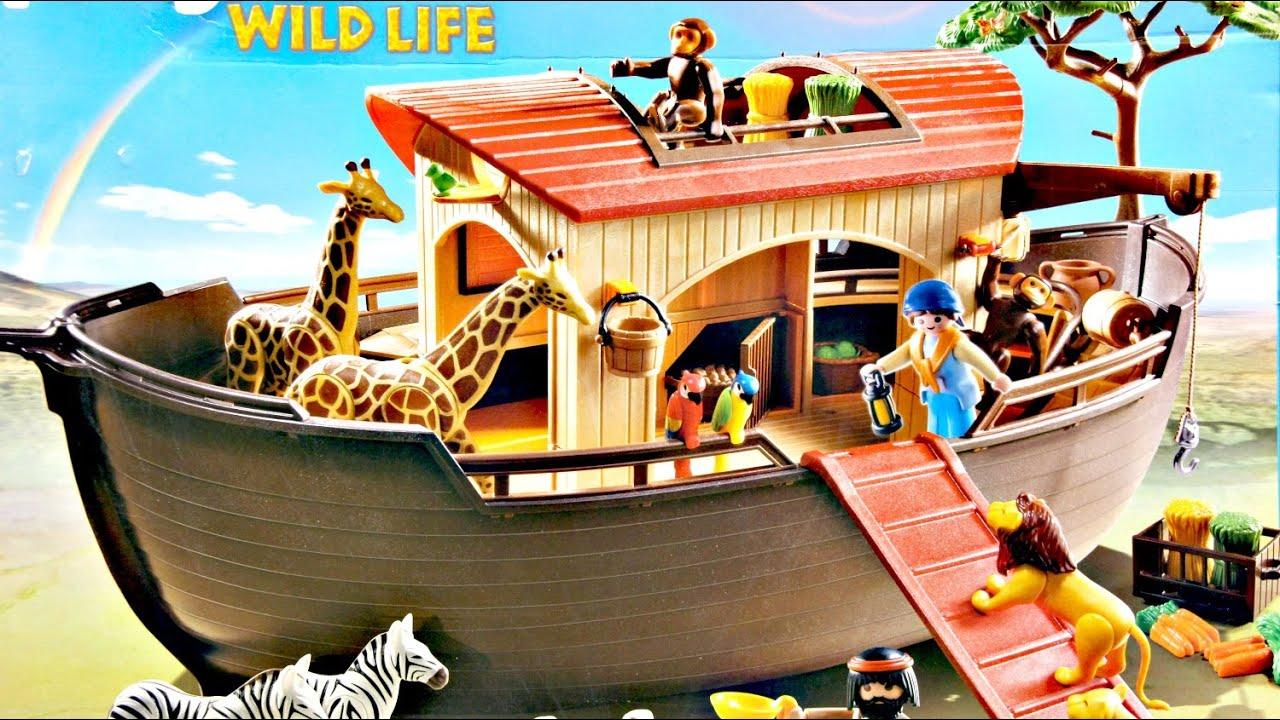 animal ark playset zestaw arka noego wild life playmobil 5276 recenzja youtube. Black Bedroom Furniture Sets. Home Design Ideas
