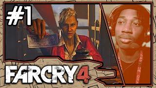 THIS MAN IS PSYCHOTIC!!!    Far Cry 4 Walkthrough Gameplay [#1]   TJTopchef