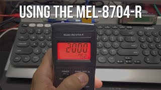 How to use Mel Meter MEL8704-R