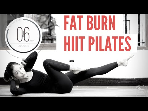 Fat Burning High Intensive Interval Training Pilates Workout (HIIT)   Pilates For Weight Loss