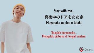 Stay With Me - Miki Matsubara (Lirik Lagu Terjemahan) TikTok Lagu Jepang Viral (Chris Andrian Cover)