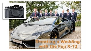 Shooting a Wedding with the Fuji X-T2 XT2 - Sample Images