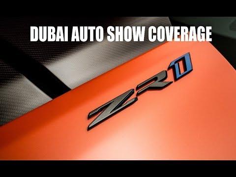 ZR1 Dubai Auto Show Reveal!