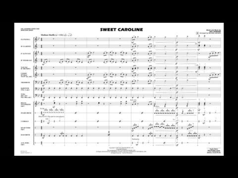Sweet Caroline arranged by Michael Brown