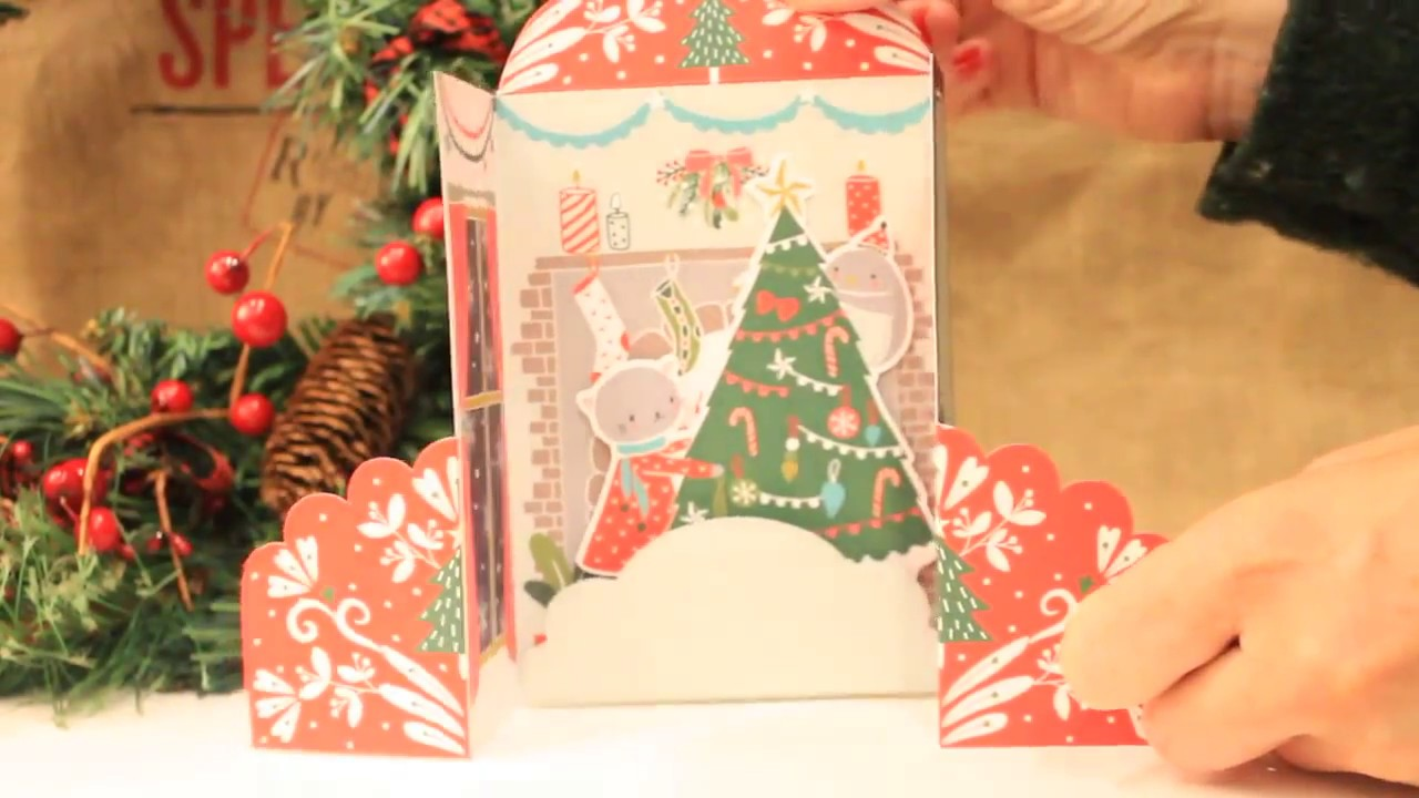 Holiday Hearth - MoMA (Museum of Modern Art) Christmas cards - YouTube