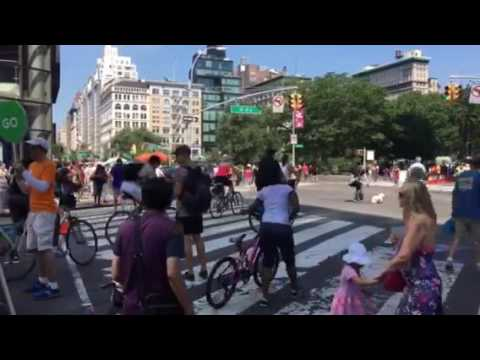 Safely Managing Cyclist & Pedestrian Movement - New York City - Safe Streets 4th Ave