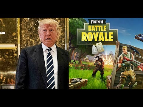 IF FORTNITE WAS MADE BY DONALD TRUMP