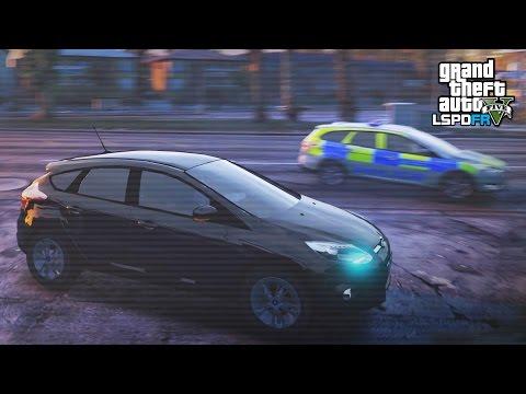GTA 5 LSPDFR - UNMARKED MET POLICE PATROL - The British way #85
