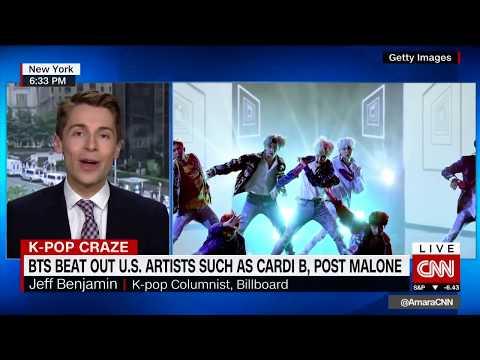 Jeff Benjamin on CNN - K-Pop Stars BTS Top Billboard - Billboard, Fuse Writer Mp3