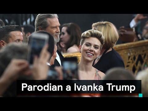 Scarlett Johansson es Ivanka Trump en Saturday Night Live - Despierta con Loret