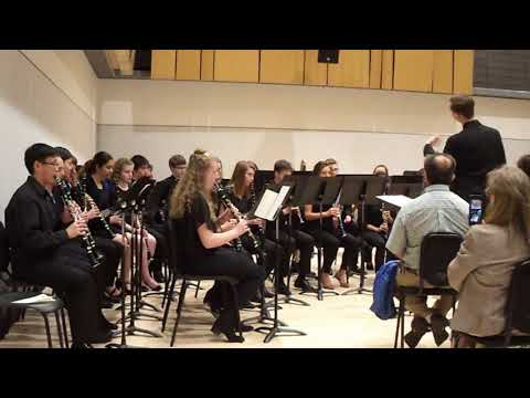 Irish Tune from County Derry - Percy Grainger - Clarinet Choir