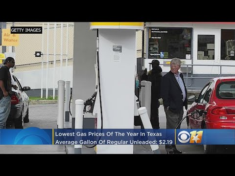 AAA: Texas Reaches Lowest Gas Prices For 2018