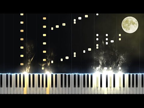 Moonlight Sonata 3rd Movement  Opus 27 No 2 Piano Tutorial Synthesia