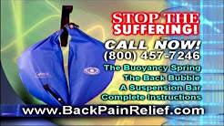 Back Pain Relief in Seconds With The Back Bubble Portable Spinal Decompression Device