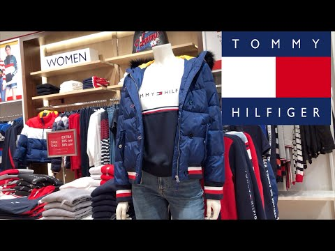 TOMMY HILFIGER COME WITH ME | Winter Collection On Sale | Mall Walkthrough-SIMPLY ME ROSIE