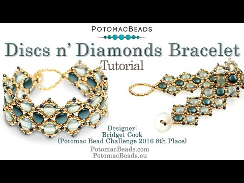 Discs n' Diamonds (Bracelet Tutorial)