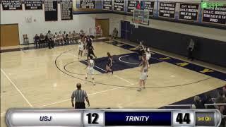 Trinity Womens Basketball v St. Joseph Highlights 11/25/18