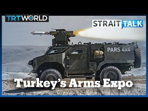 Turkey Shows Off Its Military Muscle at Istanbul Arms Expo