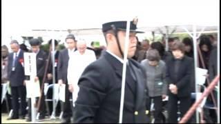 枕崎 戦艦大和など 第二艦隊追悼式