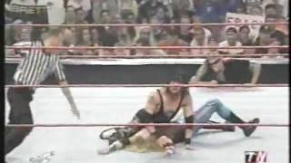 Christian w/ Edge vs. X-Pac w/ Justin Credible - July 2001