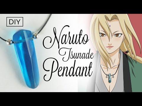 DIY Naruto Tsunade pendant Resin Crystal