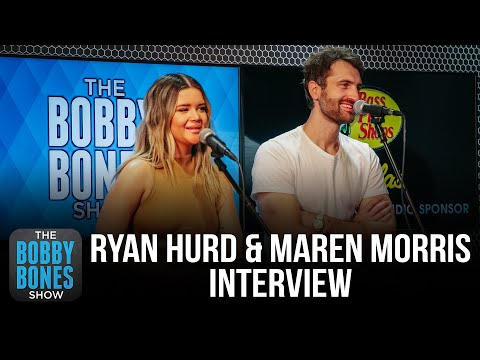 Maren Morris & Ryan Hurd On Writing Their Marriage Vows Together At A Bar