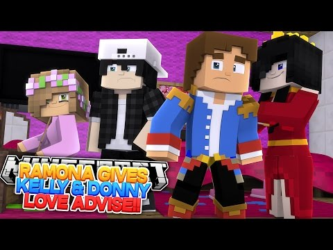 Minecraft - RAMONA HELPS DONNY GET LITTLE KELLY BACK BY PRANKING ROPO WITH RAVEN!!