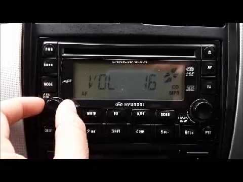 Car radio with aux and cd player