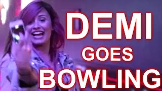 #TBT BOWLING WITH DEMI LOVATO :: NEON LIGHTS TOUR