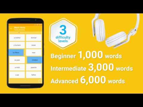 Learn Brazilian Portuguese Vocabulary - 6000 Words