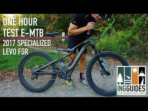 460c073657a Specialized Turbo Levo eMTB: One Hour Test Ride - YouTube