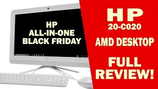 HP AMD E2 ALL-IN-ONE PC - Full Review - I Review Crap!