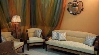 видео Ротанговая мебель в интерьере