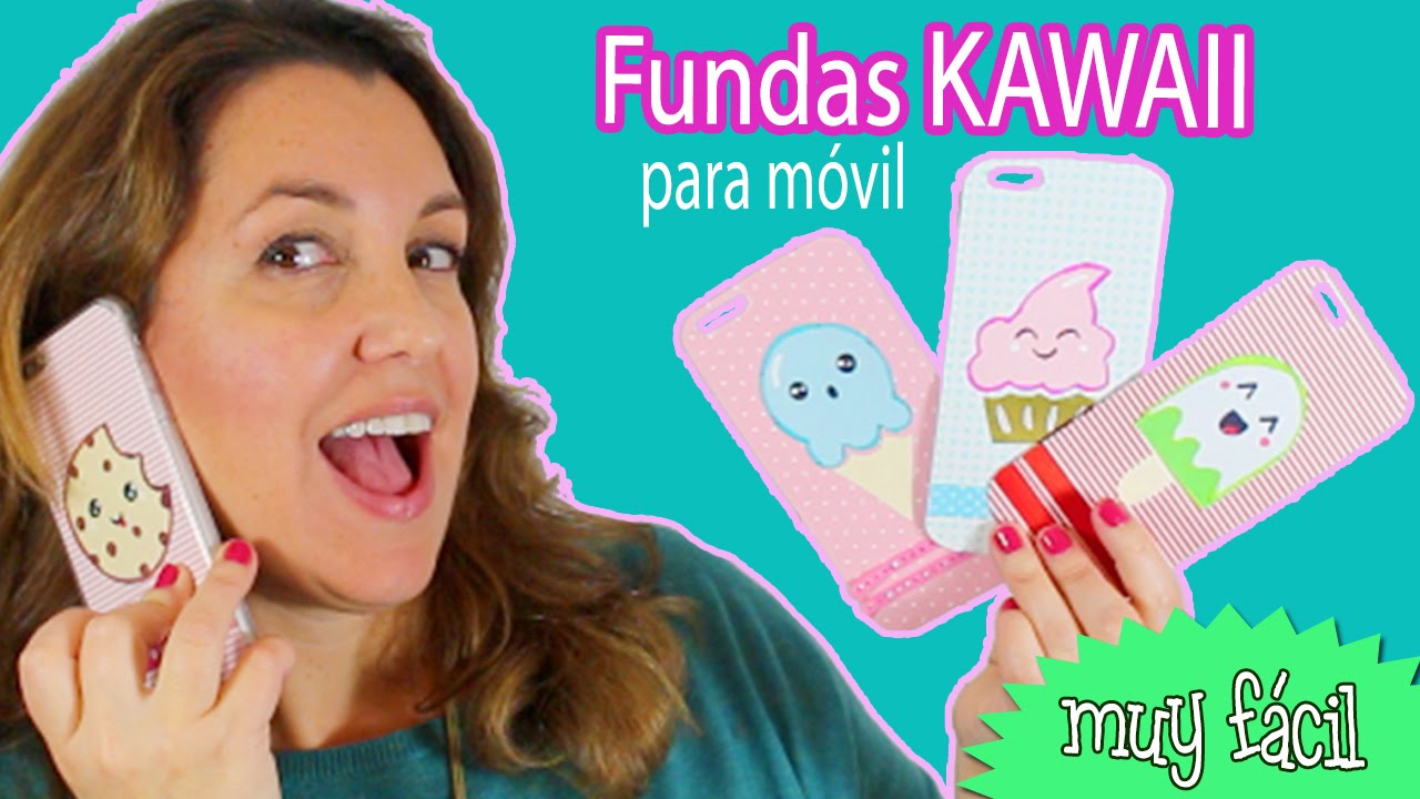 2448e929946 FUNDAS para movil celular KAWAII * kawaii mobile cover - YouTube