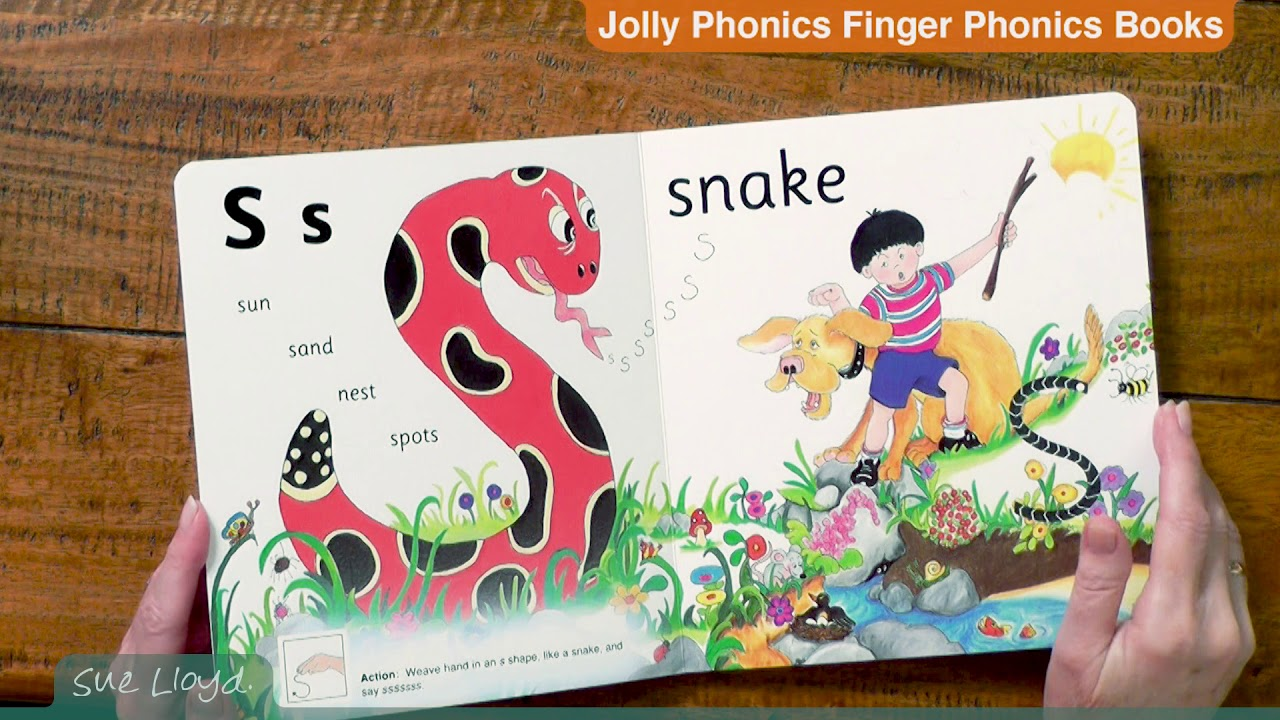 Jolly Phonics Finger Phonics Books Sue Lloyd Sue Lloyd Teaching Reading Writing