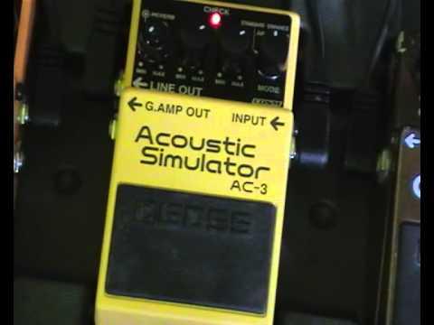 Demo Boss AC-3 Acoustic Simulator