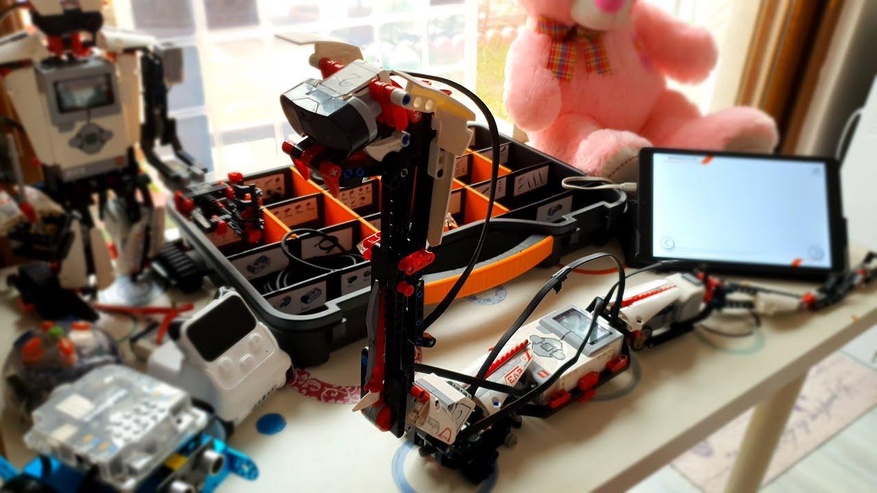 Lego Mindstorms 31313 R3PTAR - Yılan Robot EV3 - Robotik Kodlama Projeleri