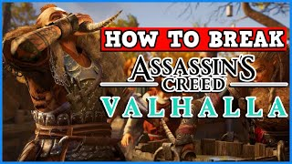 Assassins Creed Valhalla IS A PERFECTLY BALANCED GAME WITH NO EXPLOITS - Infinite Money Is Broken!