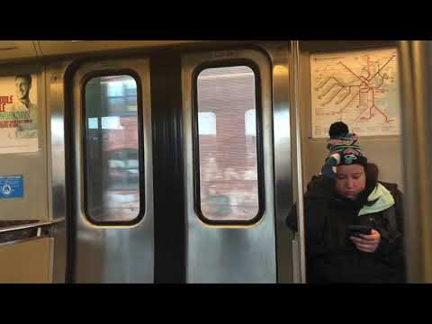 A Ride on MBTA Red Line from Downtown Crossing to Quincy Center