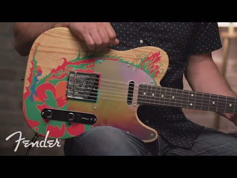 "Fender Unveils New Edition Of Jimmy Page's ""Dragon"" Guitar 