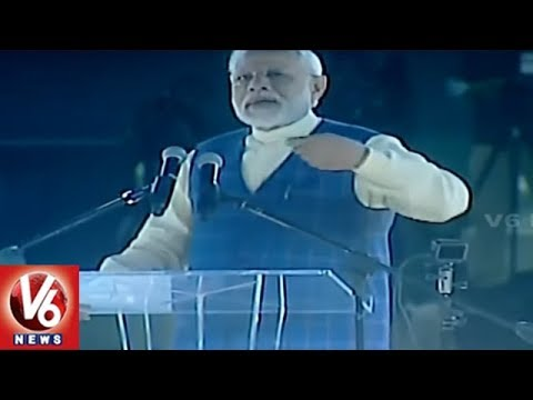 PM Modi Speech At New India Youth Conclave In Surat | Gujarat | V6 News
